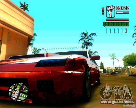 New headlights and windscreen for GTA San Andreas forth screenshot