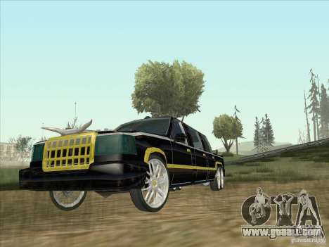 Limousine for GTA San Andreas left view