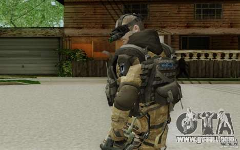 An engineer from Warface for GTA San Andreas third screenshot