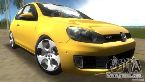 Volkswagen Golf 6 GTI for GTA Vice City