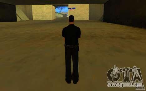 HQ skin lapd1 for GTA San Andreas second screenshot