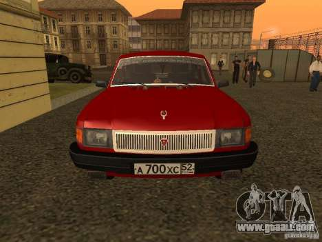 Volga GAZ 31029 Sl for GTA San Andreas left view