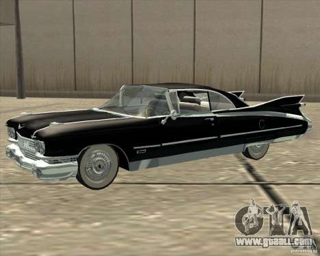Cadillac Eldorado 1959 for GTA San Andreas