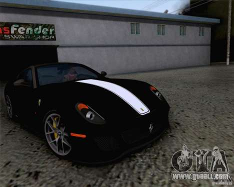 Ferrari 599 GTO 2011 v2.0 for GTA San Andreas side view