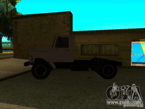 GAZ 3309 tractor for GTA San Andreas left view