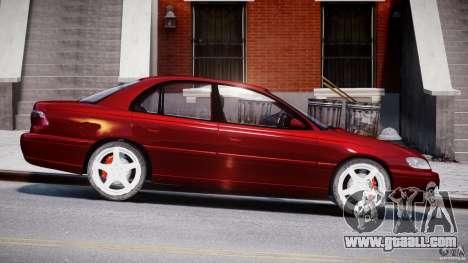 Opel Omega 1996 V2.0 First Public for GTA 4 inner view