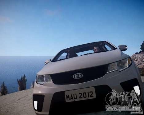 Kia Cerato Koup 2011 for GTA 4 back view