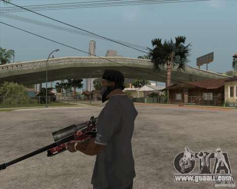Accuracy International L96A1 for GTA San Andreas third screenshot