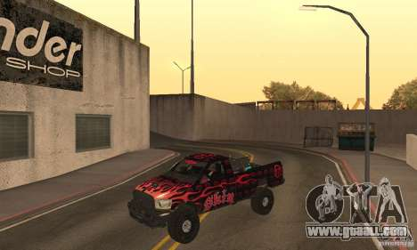 Dodge Power Wagon Paintjobs Pack 1 for GTA San Andreas