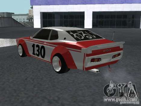 Nissan Laurel C 130 Bosozoku for GTA San Andreas right view