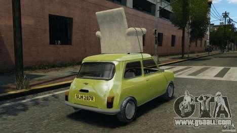 Mini Cooper for GTA 4 back left view