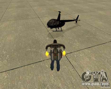 Pak air transport for GTA San Andreas wheels