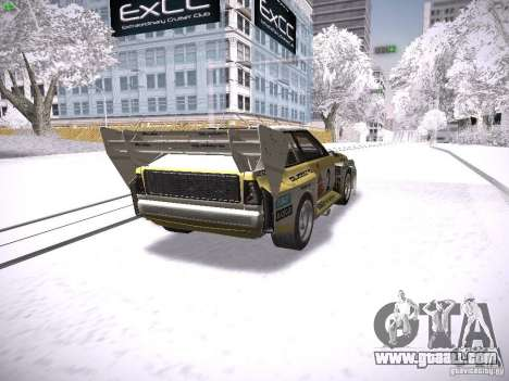Audi Quattro Pikes Peak for GTA San Andreas