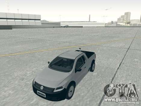 Volkswagen Saveiro 1.6 2009 for GTA San Andreas right view