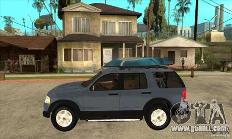 Ford Explorer 2004 for GTA San Andreas left view