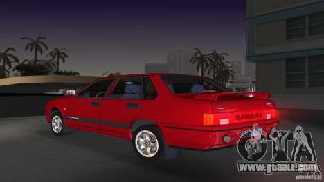 VAZ 21099 DeLuxe for GTA Vice City left view