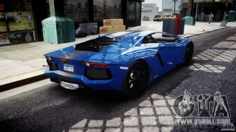 Lamborghini Aventador LP700-4 2011 [EPM] for GTA 4 upper view