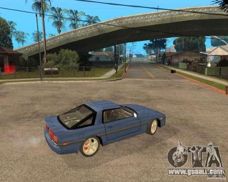 Toyota Supra MK3 for GTA San Andreas side view