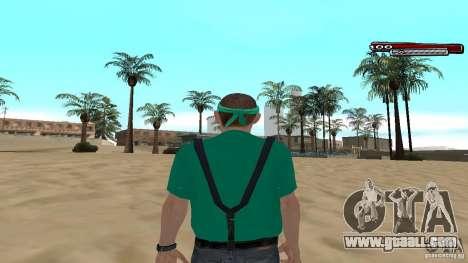 Skin Pack The Rifa Gang HD for GTA San Andreas forth screenshot