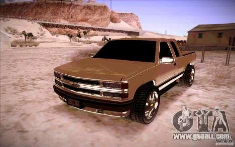 Chevrolet Silverado 3500 for GTA San Andreas