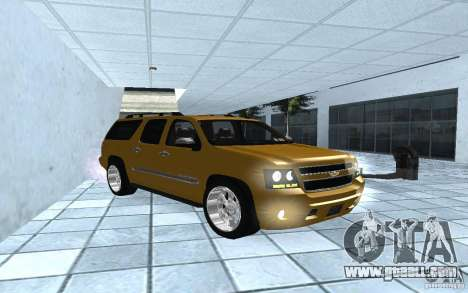 Chevrolet Suburban 2010 for GTA San Andreas