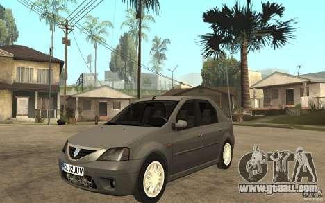 Dacia Logan Prestige 1.6 16v for GTA San Andreas