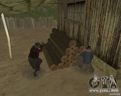 On a visit to Grandma for GTA San Andreas forth screenshot