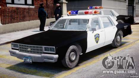 Chevrolet Impala Police 1983 for GTA 4 left view