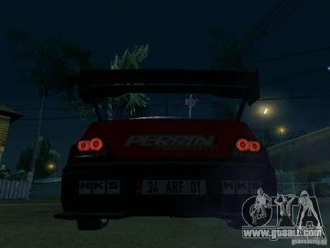 Mitsubishi Lancer Evo9 Wide Body 2 for GTA San Andreas back left view