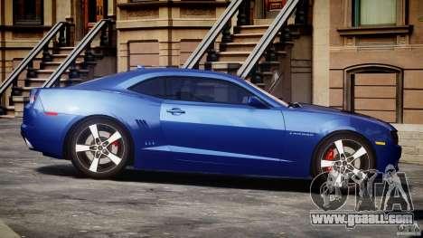 Chevrolet Camaro v1.0 for GTA 4 inner view