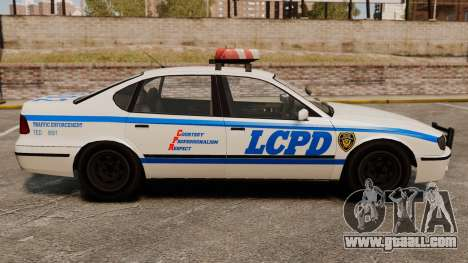New Police Patrol for GTA 4 left view