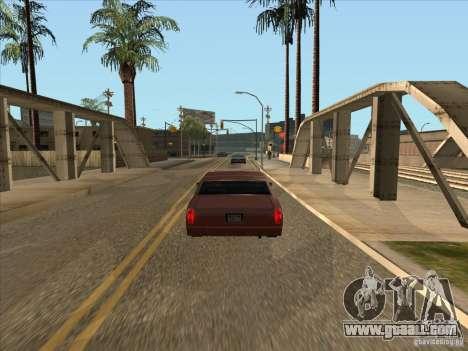 Graduated braking car for GTA San Andreas second screenshot