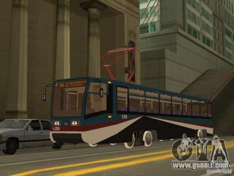 The NEW Tramway for GTA San Andreas forth screenshot