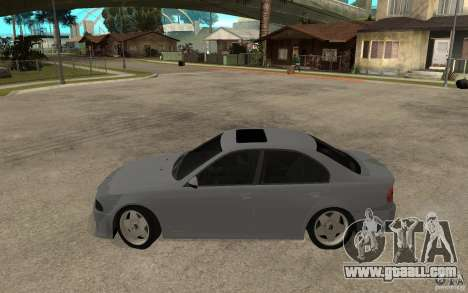 BMW 523i CebeL Tuning for GTA San Andreas left view