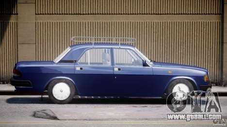 GAZ 3110 Volga for GTA 4 left view