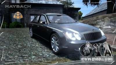 Maybach 57S for GTA 4