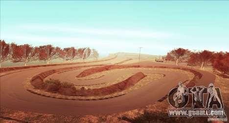 The Ebisu South Circuit for GTA San Andreas fifth screenshot