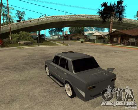 VAZ 2101 Hard tuning for GTA San Andreas left view