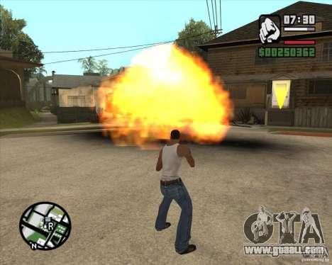 Blast for GTA San Andreas