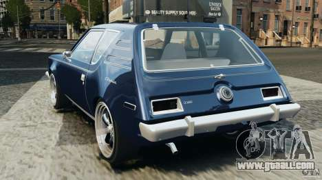 AMC Gremlin 1973 for GTA 4 back left view