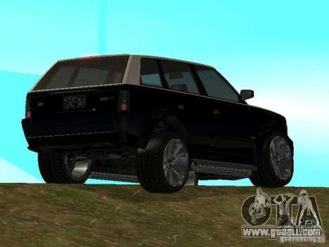 Huntley in GTA IV for GTA San Andreas left view