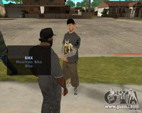 Buying a bottle of the Grove for GTA San Andreas second screenshot