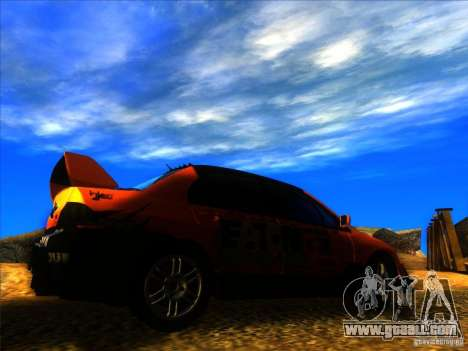 Mitsubishi Lancer Evolution IX MR for GTA San Andreas right view