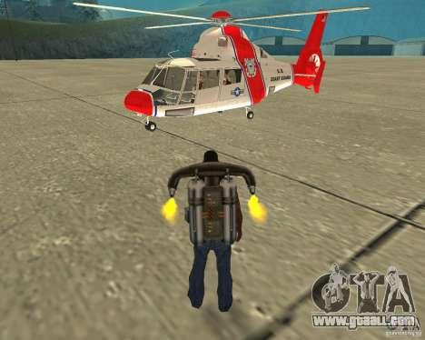 Pak air transport for GTA San Andreas