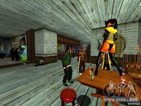 Mod Beber Cerveja V2 for GTA San Andreas eighth screenshot