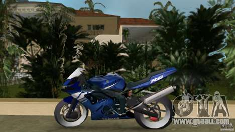 Yamaha YZF R6 2005 for GTA Vice City left view