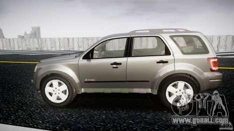 Ford Escape 2011 Hybrid Civilian Version v1.0 for GTA 4 left view