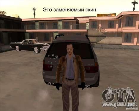 Skin is a member of the mafia for GTA San Andreas forth screenshot