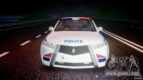 Carbon Motors E7 Concept Interceptor NYPD [ELS] for GTA 4 interior