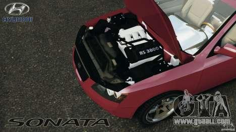 Hyundai Sonata v1.0 for GTA 4 back view